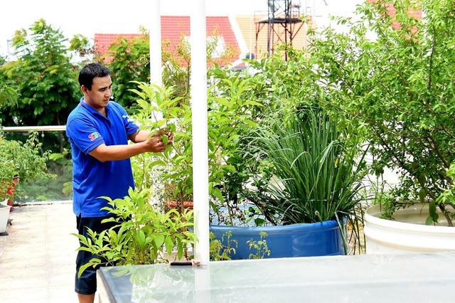 Sân vườn trong biệt thự bạc tỷ của 3 nam diễn viên nổi tiếng nhất nhì showbiz Việt, ai nhìn cũng phải ngưỡng mộ - Ảnh 23.