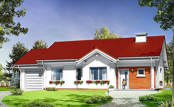Thiết kế nhà cấp 4 đẹp, rộng 100m2 giá chỉ tầm 300 triệu ai cũng mê - Ảnh 1.