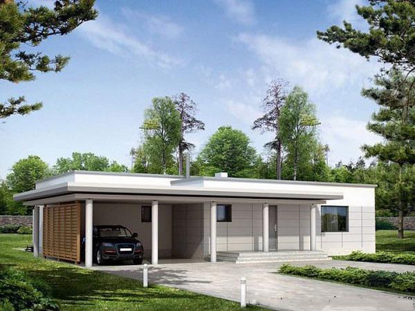 Thiết kế nhà cấp 4 đẹp, rộng 100m2 giá chỉ tầm 300 triệu ai cũng mê - Ảnh 3.