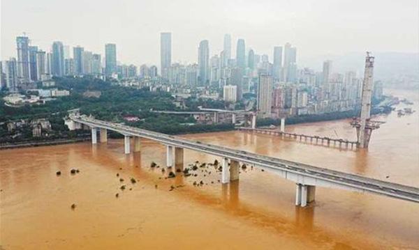 Hình ảnh lũ lụt tồi tệ tại Trung Quốc: Di sản bị nhấn chìm, đập lớn nhất thế giới đứng trước nguy cơ vượt giới hạn - Ảnh 6.