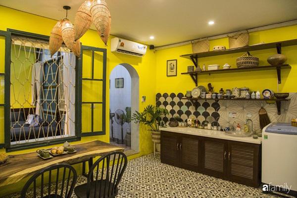 Căn hộ tập thể màu vàng sắc nắng mang vẻ hoài cổ ấn tượng ở quận Hoàn Kiếm, Hà Nội - Ảnh 6.