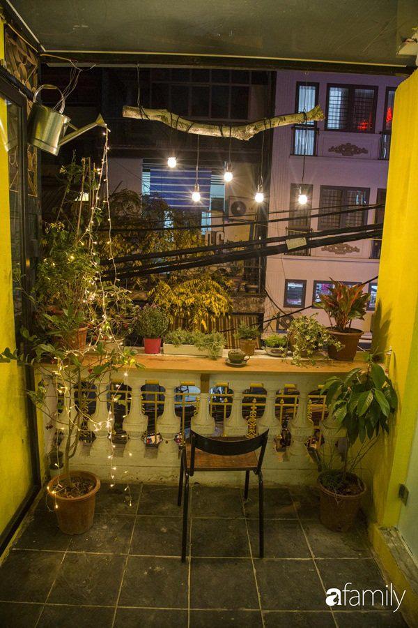 Căn hộ tập thể màu vàng sắc nắng mang vẻ hoài cổ ấn tượng ở quận Hoàn Kiếm, Hà Nội - Ảnh 7.