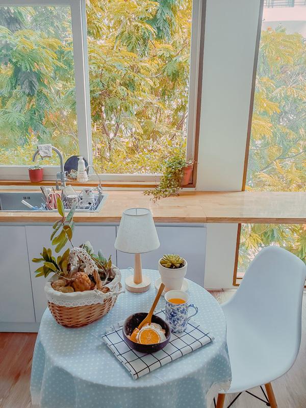 Trải nghiệm không gian siêu xinh trong căn bếp giữa lòng Sài Gòn, góc nào cũng chill tha hồ sống ảo - Ảnh 4.