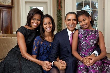 Nguyên tắc vàng nuôi dạy con khiến cựu Tổng thống Mỹ Barack Obama trở thành ông bố quốc dân - Ảnh 1.