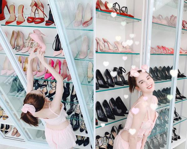 Soi tủ giày của các nàng Hậu, Kỳ Duyên nhiều như núi còn HHen Niê vỏn vẹn vài đôi - Ảnh 11.