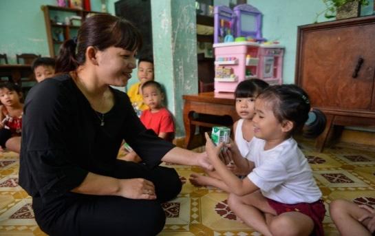 Quỹ sữa vươn cao Việt Nam và Vinamilk tiếp tục hành trình kết nối yêu thương tại TP.HCM - Ảnh 6.