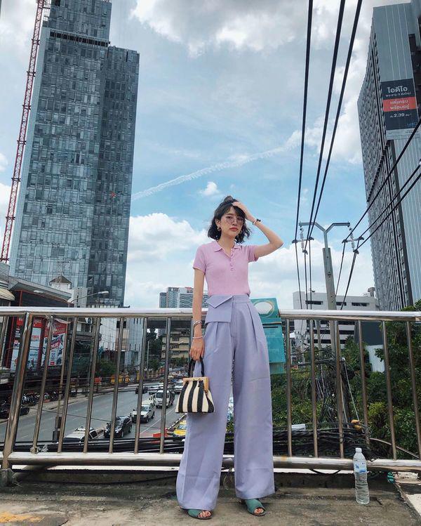 MC Mai Ngọc đi du lịch vẫn đóng bộ trẻ trung như đi làm - Ảnh 6.