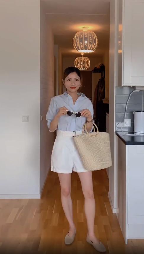 Mặc sơ mi trắng mãi rồi cũng chán, nàng công sở tìm ra thiết kế tương tự nhưng giúp chị em trẻ hơn vài tuổi  - Ảnh 6.