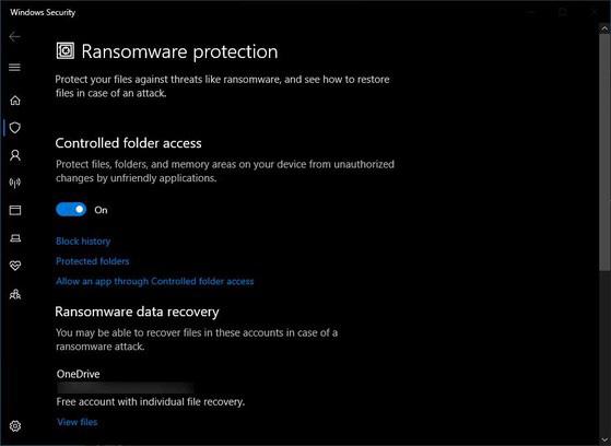 Cách bật tính năng chống mã độc tống tiền trên Windows - Ảnh 2.