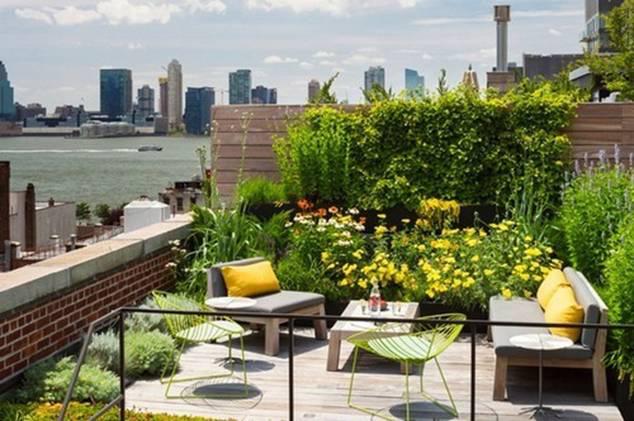 Mướt mắt với những mẫu vườn tí hon siêu đẹp cho nhà diện tích nhỏ - Ảnh 4.