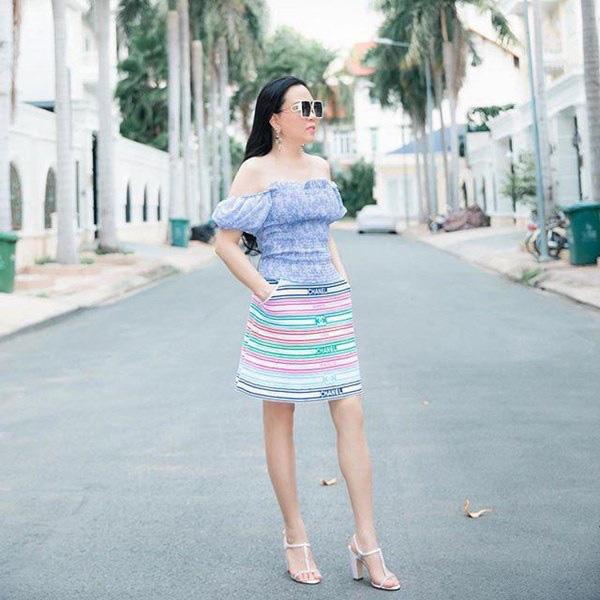 Bất chấp thân hình mũm mĩm, Phượng Chanel vẫn đam mê diện áo bẹt vai, hoá ra là có chiêu - Ảnh 8.