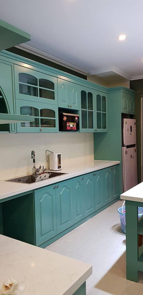 Những căn bếp với không gian xanh mướt, tuyệt đẹp, đảm bảo chị em vừa nhìn chỉ muốn lao vào nấu nướng ngay - Ảnh 4.