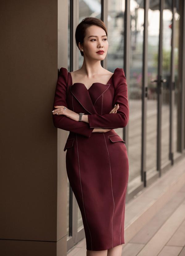 Nhan sắc rực rỡ của 3 nữ giám khảo Hoa hậu Việt Nam 2020 - Ảnh 12.