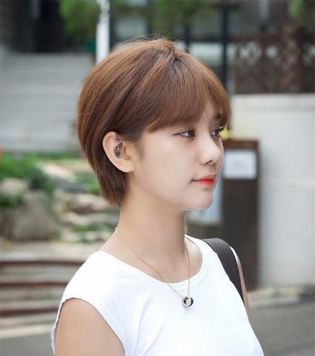 25 Kiểu tóc ngắn cho mặt dài đẹp trẻ trung dẫn đầu xu hướng 2020 - Ảnh 14.