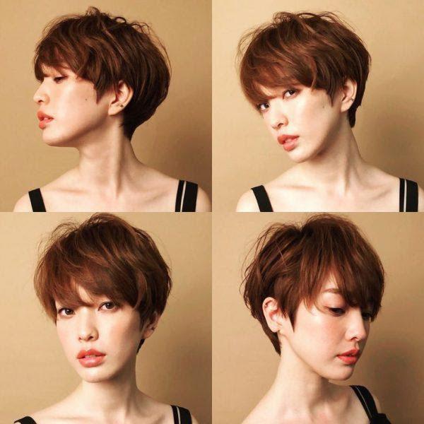 25 Kiểu tóc ngắn cho mặt dài đẹp trẻ trung dẫn đầu xu hướng 2020 - Ảnh 16.
