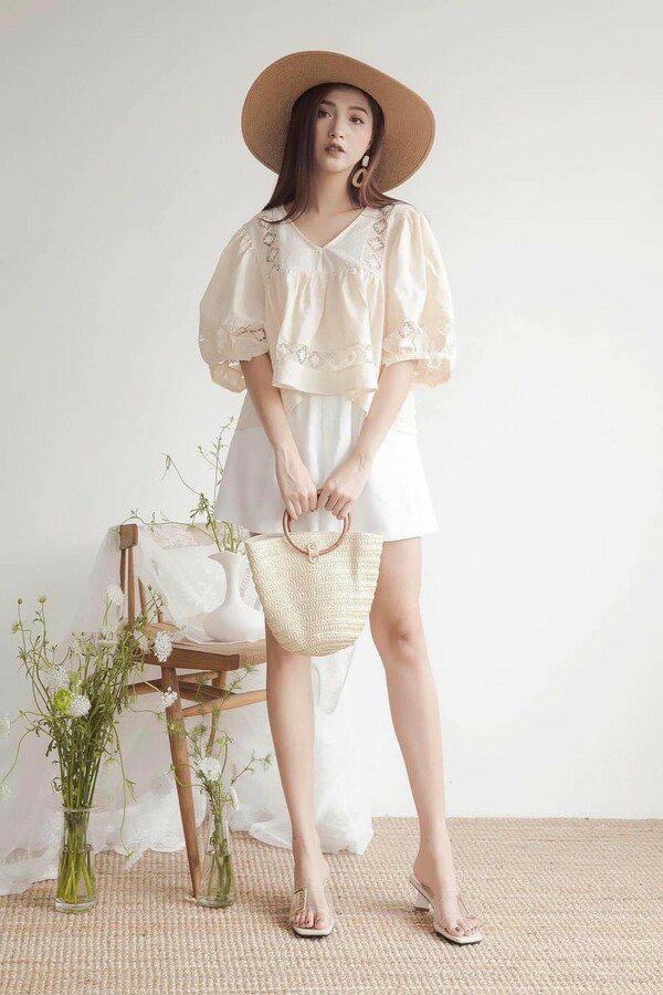 Với thời tiết hè chẳng mảy may gió của Hà Nội, đây là những trang phục phù hợp nhất cho nàng - Ảnh 17.