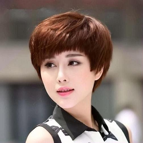 25 Kiểu tóc ngắn cho mặt dài đẹp trẻ trung dẫn đầu xu hướng 2020 - Ảnh 20.