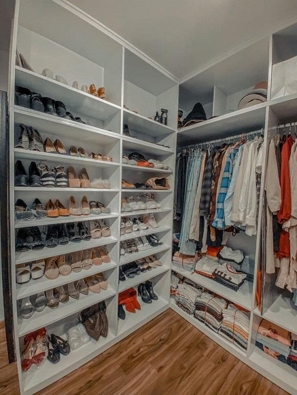 Chuyển sang căn hộ mới rộng rãi hơn, chị Mận trong Cô gái nhà người ta gây choáng với phòng chứa đồ như shop thời trang - Ảnh 4.