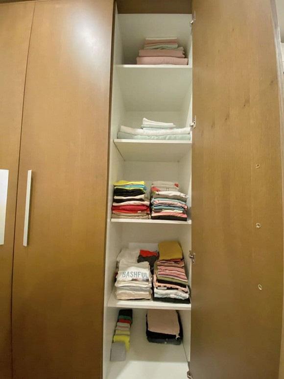 Chuyển sang căn hộ mới rộng rãi hơn, chị Mận trong Cô gái nhà người ta gây choáng với phòng chứa đồ như shop thời trang - Ảnh 8.
