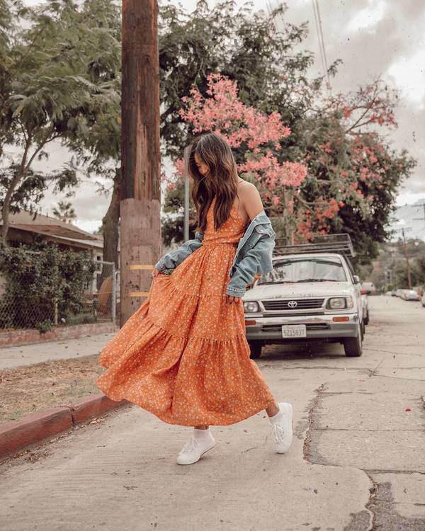 Bỏ túi những cách này, nàng sẽ chọn được váy hoa tôn dáng triệt để - Ảnh 3.