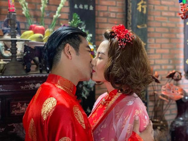 Hoàng Mập gây tranh cãi khi đăng ảnh Ngọc Lan hôn Thanh Bình - Ảnh 2.