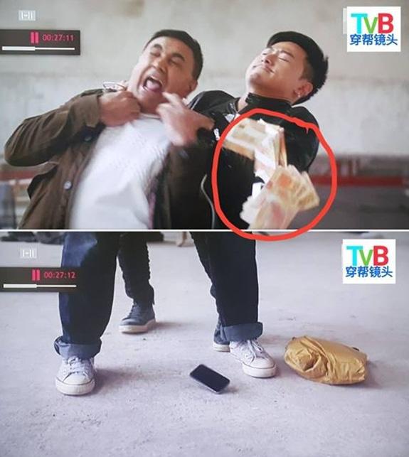 Sạn hài hước trong phim TVB - Ảnh 5.