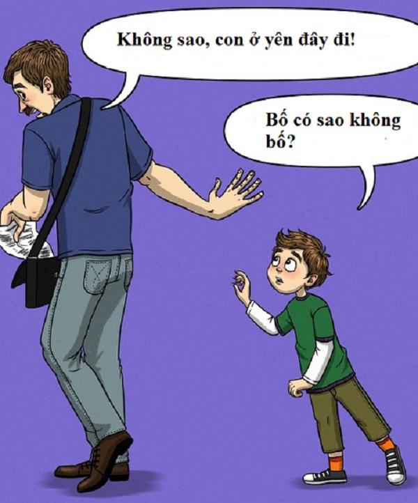 Sai lầm của bố khiến con trai tổn thương - Ảnh 5.