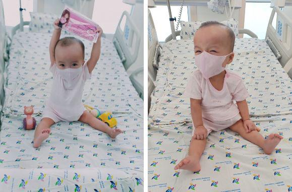 ẢNH: 2 chị em Trúc Nhi - Diệu Nhi đã tháo nẹp bột, sẵn sàng cho những bước đi đầu tiên trong cuộc đời - Ảnh 2.