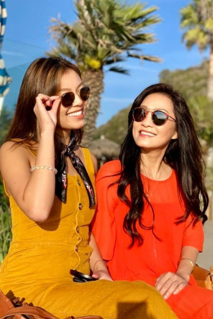 Hai ái nữ xinh đẹp nhà Hồng Đào chẳng kém nhà Quyền Linh, nhan sắc cực Tây nhìn mà mê - Ảnh 4.