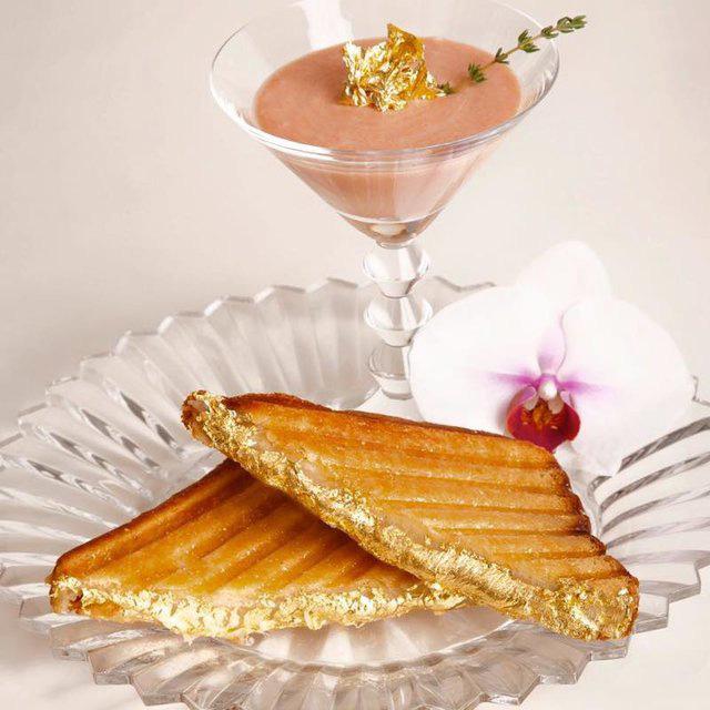 Những món ăn dát vàng chỉ dành cho giới siêu giàu - Ảnh 2.