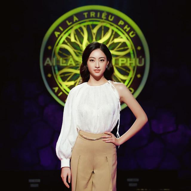 Lương Thuỳ Linh đối đáp hài hước với MC Ai là triệu phú - Ảnh 2.