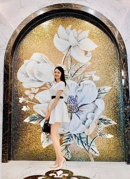 Thí sinh Hoa hậu Việt Nam 2020 sở hữu đôi chân dài 1,21m - Ảnh 4.