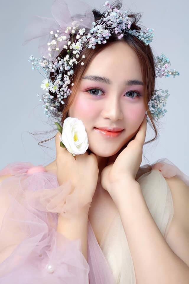 Cô gái Quảng Nam có gương mặt đẹp như minh tinh dự thi Hoa hậu Việt Nam 2020 - Ảnh 3.