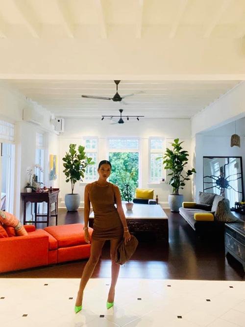 Cận cảnh ngôi nhà cổ 80 năm tuổi rộng 5.600m2 của siêu mẫu Bằng Lăng ở Singgapore, toàn bộ nội thất được chuyển sang từ Mỹ - Ảnh 4.