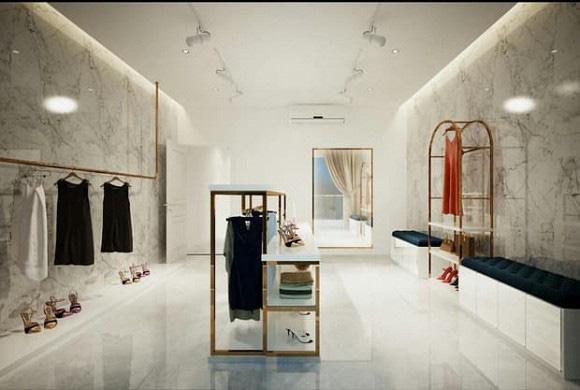 Biệt thự 3 tầng siêu sang chảnh của chị gái Ngọc Trinh, choáng váng với phòng chứa đồ như showroom hàng hiệu - Ảnh 7.