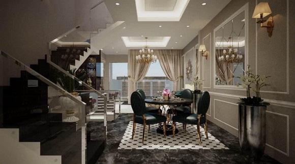 Biệt thự 3 tầng siêu sang chảnh của chị gái Ngọc Trinh, choáng váng với phòng chứa đồ như showroom hàng hiệu - Ảnh 6.