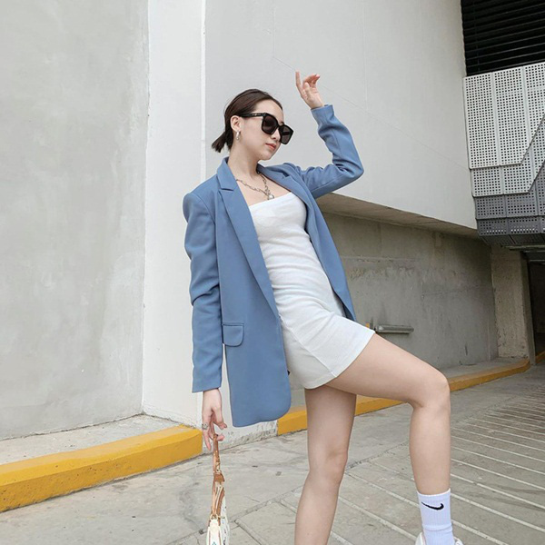 Hương Giang lúc nào cũng chanh sả nhờ diện blazer cực khéo, các nàng hóng ngay để lên hạng phong cách - Ảnh 13.