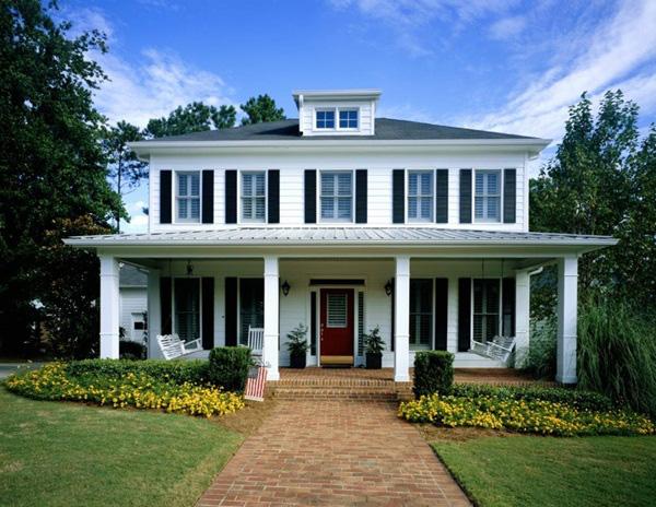 Màu sơn nhà ngoài trời đẹp mê ly, cả nghìn người nhìn đều khen ngợi, đúng đẳng cấp sành điệu - Ảnh 1.