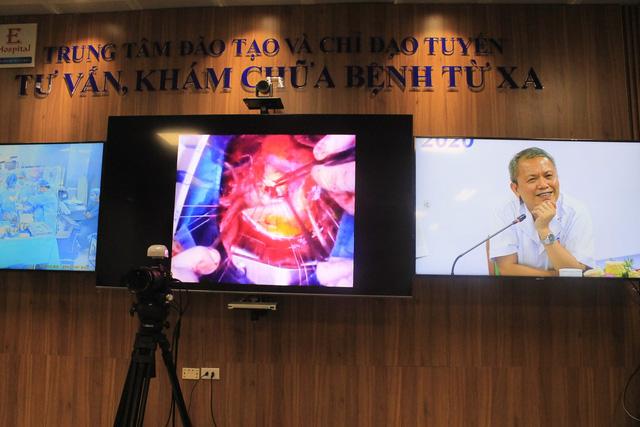 Đề nghị đặc biệt của Giám đốc Bệnh viện E tại buổi khai trương khám chữa bệnh từ xa - Ảnh 3.