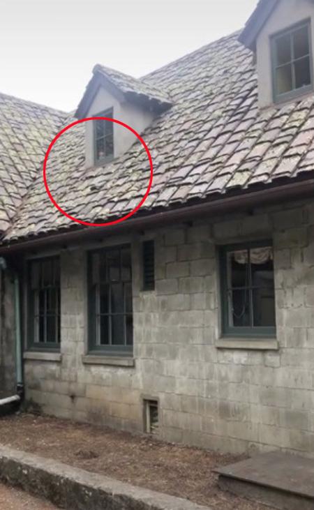 Gương mặt đứa trẻ bên cửa sổ nhà hoang - Ảnh 2.