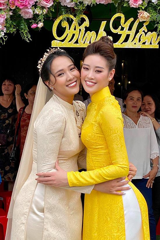 Chị dâu cao 176 cm của hoa hậu Khánh Vân - Ảnh 2.