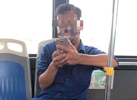 Lộ quá khứ gây sốc của gã đàn ông nhổ nước bọt vào nữ phụ xe buýt - Ảnh 3.