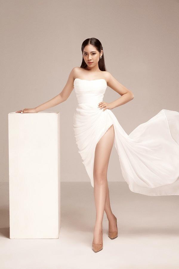 Thiếu nữ lớn lên trong cô nhi viện, eo 58cm dự Hoa hậu Việt Nam 2020 - Ảnh 1.