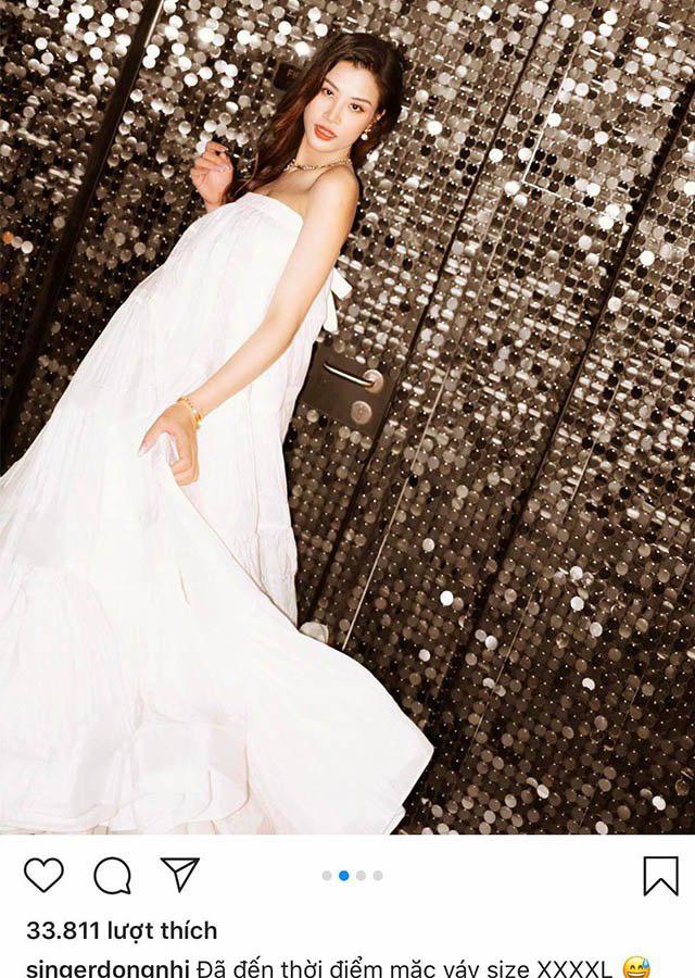 Đông Nhi bầu 8 tháng, diện đầm size đại 4XL vẫn lộng lẫy như công chúa - Ảnh 5.
