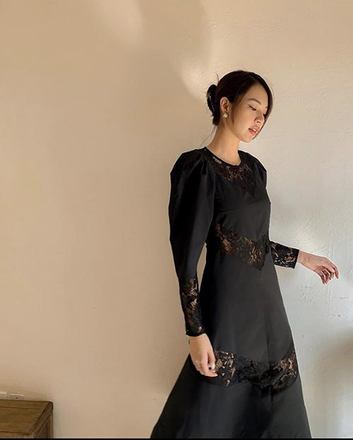 Mặc tông đen đa phong cách như sao Việt - Ảnh 6.