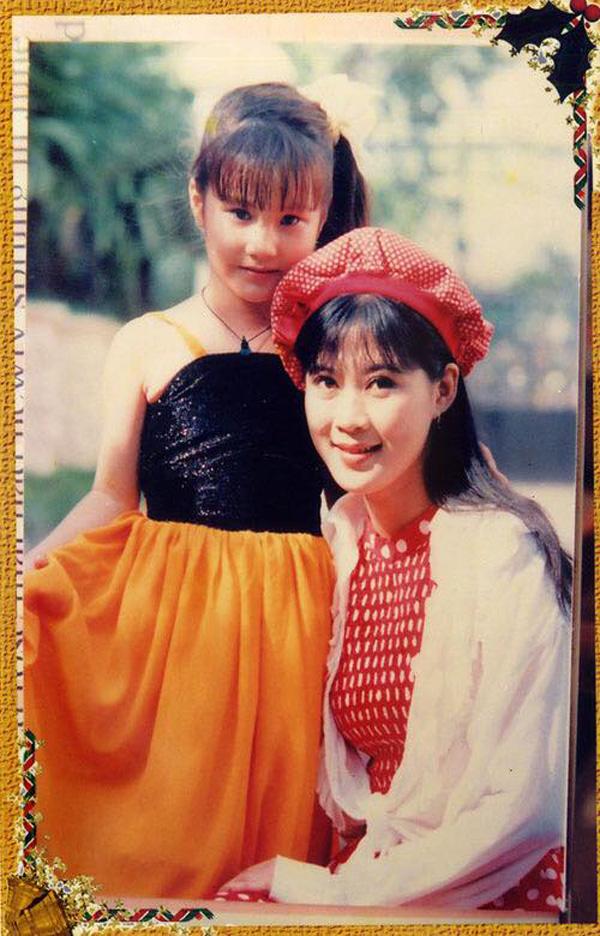 Ảnh hiếm thời thơ ấu của Diễm My 9X được đóng phim cùng Diễm Hương - Ảnh 2.