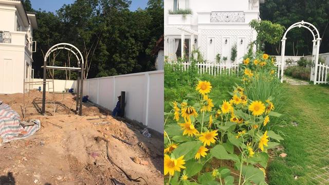 Biệt thự nhà vườn ngập tràn các loại hoa của gia đình ở Bình Dương - Ảnh 3.