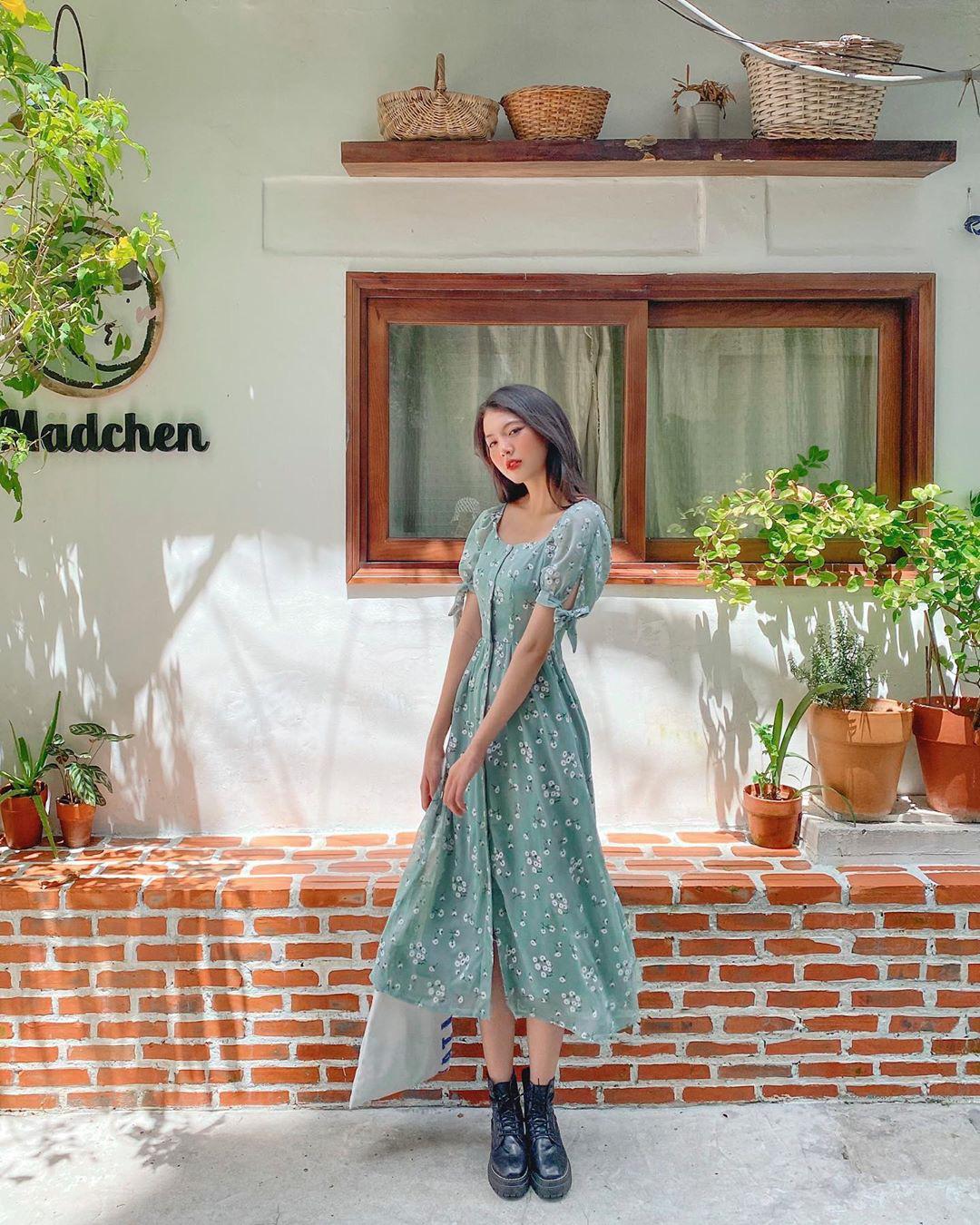 Trời se lạnh mà quẩy váy dáng dài là style sẽ yêu kiều như gái Pháp, điểm sang chảnh cũng tăng ngùn ngụt - Ảnh 12.