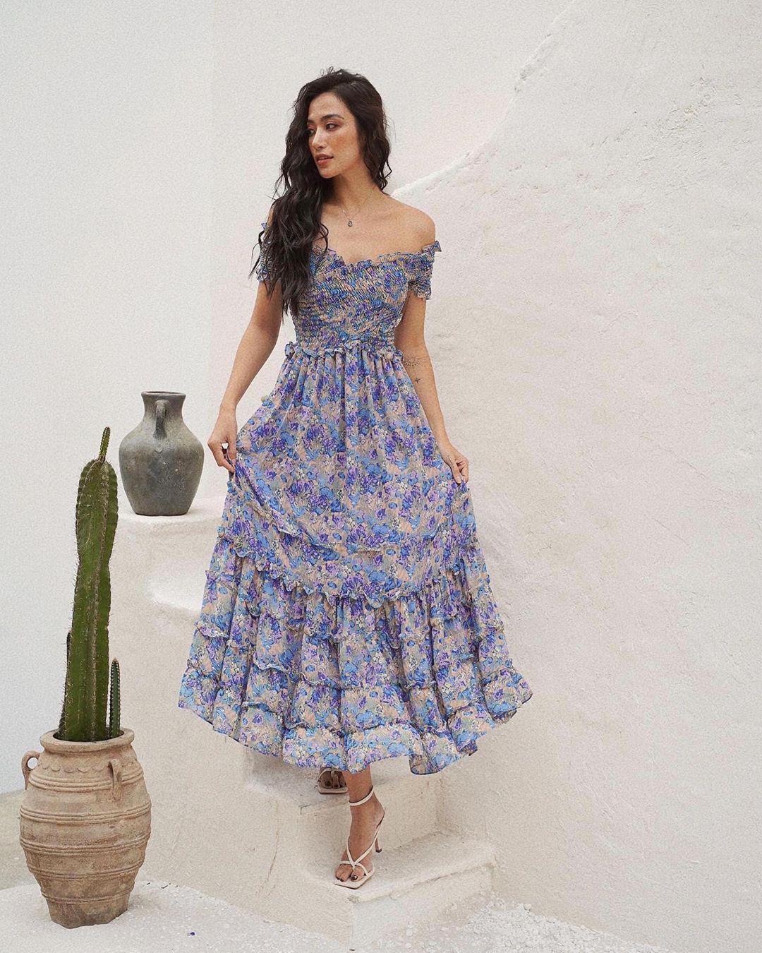 Trời se lạnh mà quẩy váy dáng dài là style sẽ yêu kiều như gái Pháp, điểm sang chảnh cũng tăng ngùn ngụt - Ảnh 14.