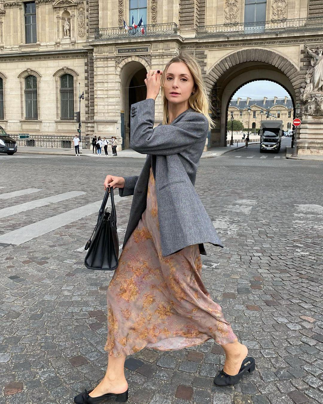 Trời se lạnh mà quẩy váy dáng dài là style sẽ yêu kiều như gái Pháp, điểm sang chảnh cũng tăng ngùn ngụt - Ảnh 6.